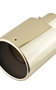 """3 """"x 2.8"""" Tubo di acciaio inox di scarico ovale in coda silenziatore punta per Toyota RAV4"""