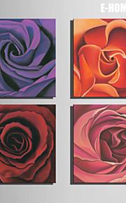 e-Home® venytetty kankaalle art rose koriste maalaus sarja 4