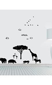 animais fundo adesivos de parede decorativos