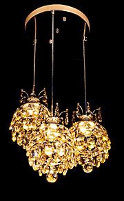 Hängande lampor - Living Room/Bedroom/Dining Room/Sovrum/Badrum/Studierum/Kontor - Traditionell/Klassisk - Kristall