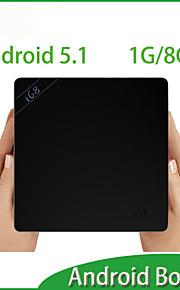 contenitore di android TV 5.1 rk3368 64bit nucleo octa corteccia A53 1gb + lettore multimediale 8gb Multi HDMI lingua contenitore di android 5.1 TV