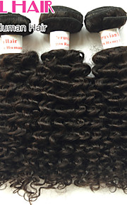 дюймов дешевые peruviann девственница волос глубокая волна человеческого волоса 3 пучки 8 '30' натуральный черный наращивание волос