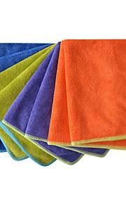sinland microfiber afstoffen handdoek wassen auto detaillering auto poetsdoeken 4 kleuren 14 inchx14 inch pak van 8