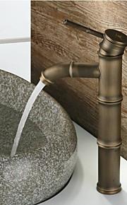 Antiek - Waterval - Messing ( Antiek Koper )