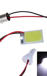 LED reading lamp COB lamp 18led car lights DIY 12V modified DC aluminum plate with 3 kinds of interface