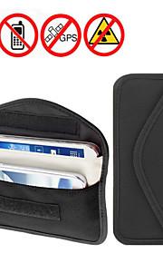 dearroad mobiltelefon rf signal blocker / jammer anti-stråling skjold taske pose