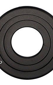 zwarte c-mount cine film lens canon eos m m2 m3 cameralens adapterring cctv lens c-eos m
