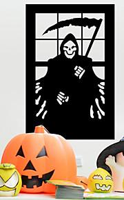 grim reaper adesivi murali PVC decorazione di Halloween