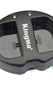 kingma® dual slot usb lader voor Canon LP-E6 batterij voor canon eos 5D2 5D3 70d 6d 7d 7d2 60d camera