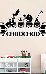 벽 스티커 벽 데칼 스타일의 개성 창작 만화 PVC 벽 스티커