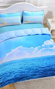 Starfish fábrica direto e roupa de cama para o mar grupo legal edredons de impressão 3D edredom macio conjunto de capa de 3pcs ou 4pcs