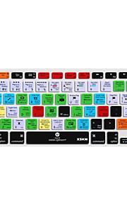 XSKN lightroom siliconen toetsenbord huid dekking voor macbook pro lucht netvlies 13 '' 15 '' 17 '' eu ons versie