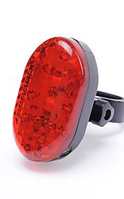 leadbike 7 johti 3 tilaa projektio, 2 tilaa laser takavalot / turvallisuus valot / turvallisuus heijastin akku 2 kpl AAA