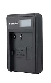 camera acculader met het scherm voor Canon BP - 511 zwart