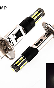 h1 4014smd 18LED wit licht auto mistachterlicht (ac / DC12-24V)