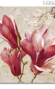 e-home® magnetisk print utskiftbare kunst røde og hvite blomster dekormaling multi stil valgfritt