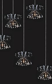 Simple Modern Dandelion Crystal Pendant lamp Patented Product 5