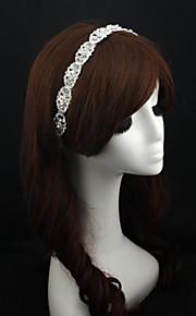 Celada Bandas de cabeza Boda / Ocasión especial Encaje / Rhinestone / Aleación Mujer Boda / Ocasión especial 1 Pieza