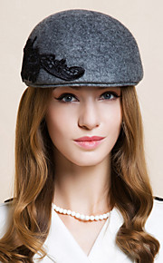 Women's Wool Headpiece - Special Occasion / Casual / Office & Career / Outdoor Hats 1 Piece