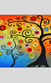 Oil Paintings Money Tree Style , Canvas Material with Stretched Frame Ready To Hang SIZE:60*90CM.