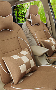 Flax Car Seat Cover Four General Environmental Protection Breathable Cushion Pad Seat Size Of About 125 135 140 cm