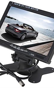 7 inch kleuren TFT-LCD auto achteruitkijkspiegel monitor voor dvd-camera