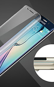 Scratch-Proof  Sphere Full Coverage of HD Fingerprint-Proof Steel Soft Glass Film for Samsung Galaxy S6 edge +