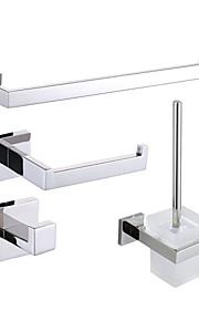 Set di accessori per il bagno , Moderno Lucidatura a specchio Montaggio a muro