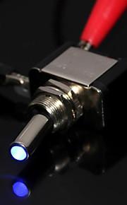 bil båd SPST blåt LED lys 12v 20a tip skifte on / off-kontakt