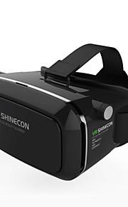 vr shinecon 3d virtual reality briller hoved mount google pap 3D-film spil briller til 4,7 ~ 6 tommer smartphone