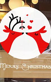Christmas Window Sticker Contemporary , Art Deco 70cm*58cm