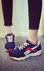 Women's Walking Shoes Tulle Black / Blue / Red