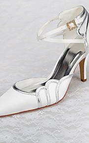 Chaussures de mariage - Blanc - Mariage / Bureau & Travail / Habillé / Soirée & Evénement - Talons / Bout Pointu / Bout Fermé - Talons -