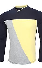 男性用 長袖 Tシャツ , その他 カジュアル / オフィス / スポーツ プレイン