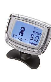 dearroad автомобиль ЖК-дисплей Датчик парковки обратный радар левый передний правый систему оповещения с 4 датчиками