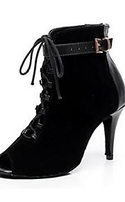 Zapatos de baile ( Negro ) - Danza latina - No Personalizable - Tacón de estilete