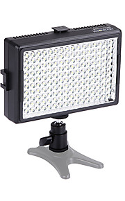 sk-led160b 6000mcd 160pcs 5500K dæmpbar førte videolys fotografering lampe til canon nikon PENTAX DSLR-kamera videokamera