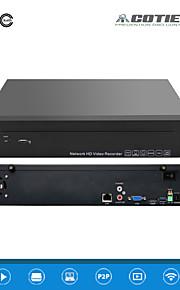 cotier®4ch 1.5u 2hdd port / 960p / HD / p2p sky / NVR n4 / 1.5u-2h