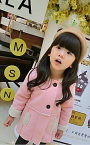 Girl's Pink Jacket & Coat , Dresswear Others Winter / Fall