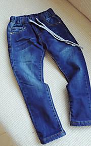 Girl's Blue Pants , Dresswear Others Winter / Fall