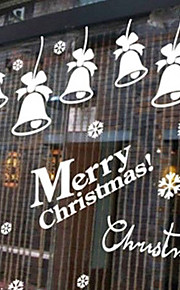Christmas Window Sticker Contemporary , Art Deco 66cm*60cm