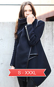 occasionnels irréguliers plus-façons-à-porter des vestes de femmes