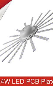 9W / 24W Plafondlampen 120 SMD 2835 2400 lm Warm wit / Koel wit Decoratief AC 220-240 V 1 stuks