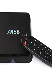 m8s contenitore di android TV Amlogic S812 quad-core 4 k lettore HD di rete di wifi doppio set-top box