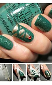 5pcs Nail Art Kits Nagel-Kunst-Maniküre-Werkzeug-Kit Make-up kosmetische Nail Art DIY