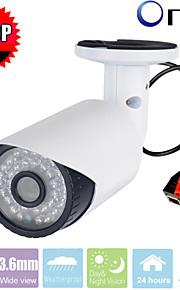 CCTV sony cms 2.0megapixel 1080p 36pcs leds ir-cut indendørs bullet ip sikkerhed kamera p2p-netværk sikkerhed ip kamera
