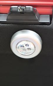 4 geleid kofferbak lichte aanraking licht leeslamp kleine nachtverlichting kaart staart doos auto lichtbron
