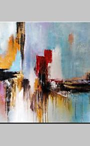 手描きの 抽象画 / ファンタジーModern 1枚 キャンバス ハング塗装油絵 For ホームデコレーション