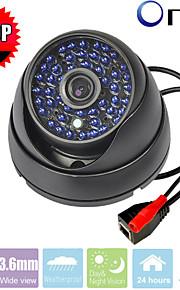 48pcs cctv LED IR-cut rete di telecamere di sicurezza custodia in metallo dell'armatura IP della cupola 2.0MP 720p p2p telecamera di