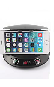 fjernbetjening bluetooth V2.1 håndfrit bilsæt telefonholder&mp3 afspiller&FM-sender&højttaler&forandring&tf